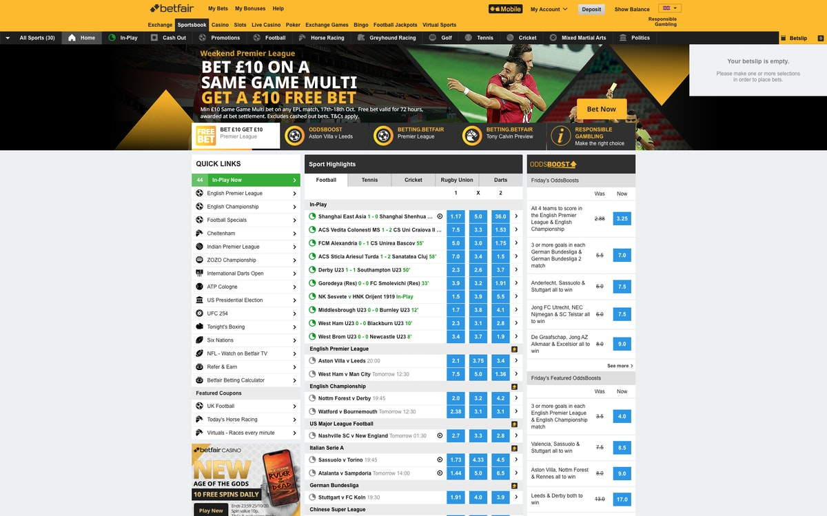Italian betting exchange is online horse racing betting legal