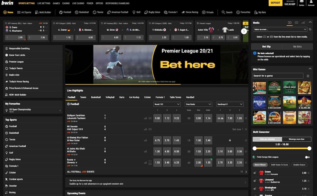 bwin betting football system