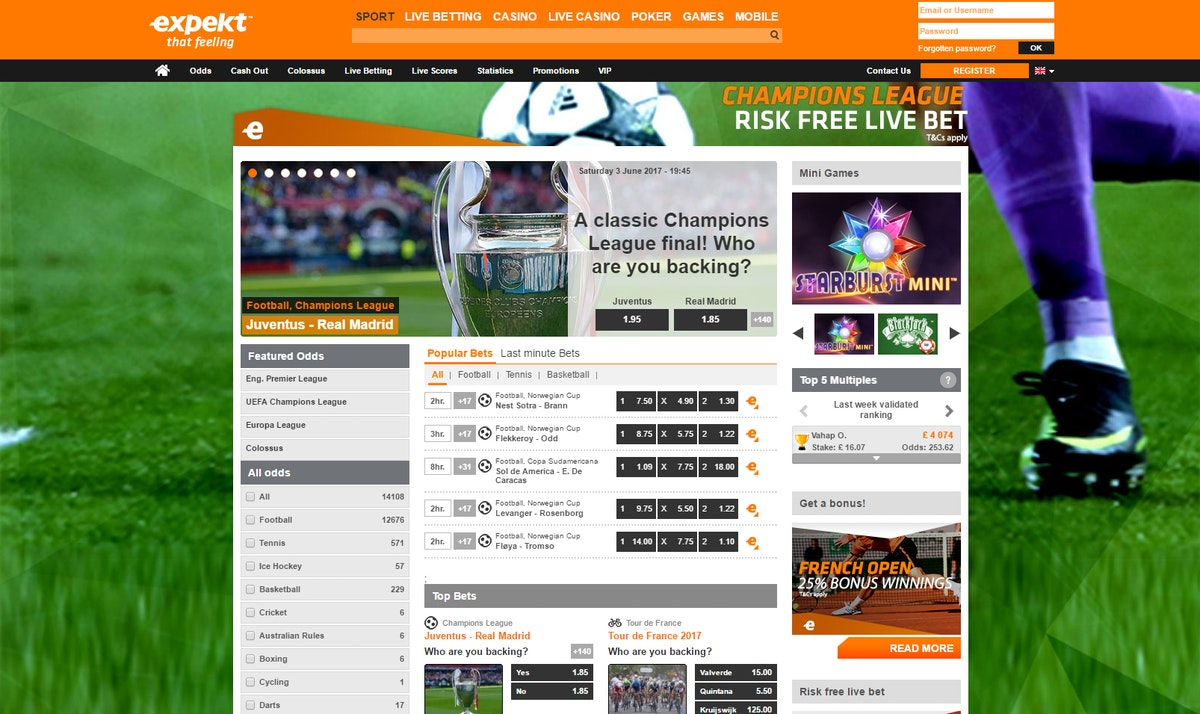 Expekt mobile betting wagershack preakness betting help