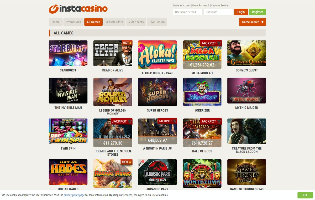 [Image: instacasino_games.jpg?auto=compress%2Cfo...62951650fc]