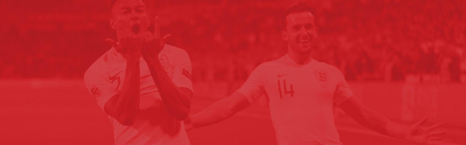 England football header image